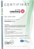Certifikace dle ISO 14001:2015